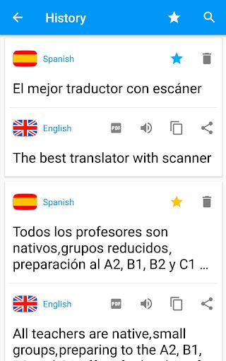 Camera Translator - Translate Picture Scanner PDF modavailable screenshots 16