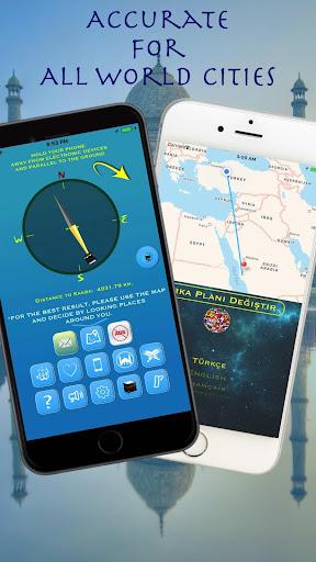 Qibla Compass for Namaz, Qibla Direction, u0627u0644u0642u0628u0644u0629 2.2.6 Screenshots 1