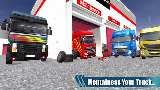 American Truck Driver Simulator- Cargo Truck Game  screenshots 11