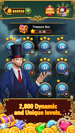 Jewels Mystery: Match 3 Puzzle apkpoly screenshots 5