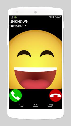 laughing sounds fake call game apktreat screenshots 1