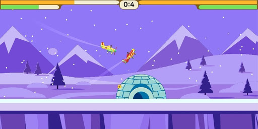 hit the plane - bluetooth game local multiplayer screenshot 2