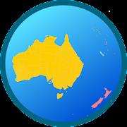 Australia and Oceania map Free