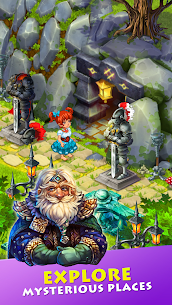 Free Farmdale  farming games  town with villagers Apk Download 2021 4