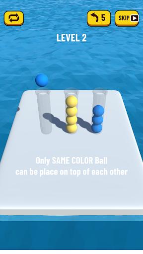 Ball Sort Puzzle 3D 0.7 screenshots 4