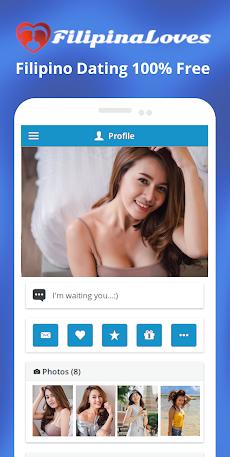 FilipinaLoves - Free Filipino Datingのおすすめ画像1