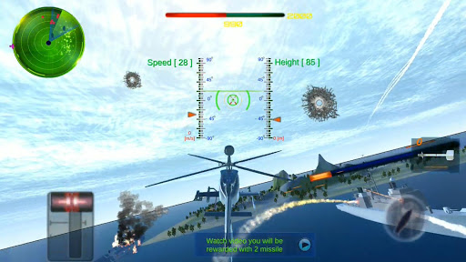 helicopter-gunship-combat -fightofair(3d) screenshot 1