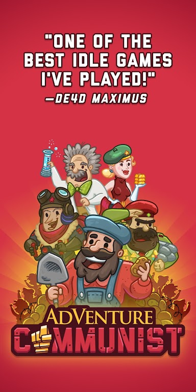 AdVenture Communist: Idle Clicker  poster 0