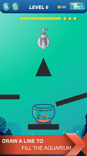 Save The Fish - Physics Puzzle Game  screenshots 2