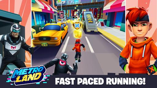 MetroLand - Endless Arcade Runner  screenshots 7