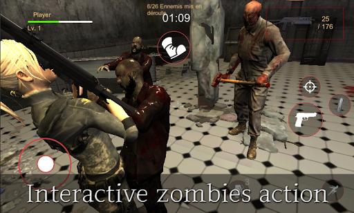 Télécharger Evil Rise : Zombie Resident - Third Person Shooter apk mod screenshots 2