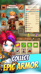 Mod Game Mythical Knights: Endless Dungeon Crawler RPG for Android