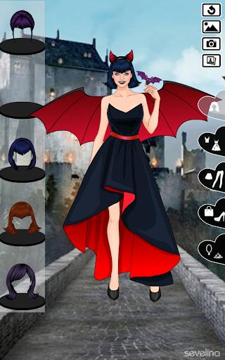 Sweet Vampire Wedding dress up  screenshots 3