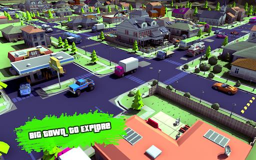 Grand City Theft War: Polygon Open World Crime 2.1.7 screenshots 3