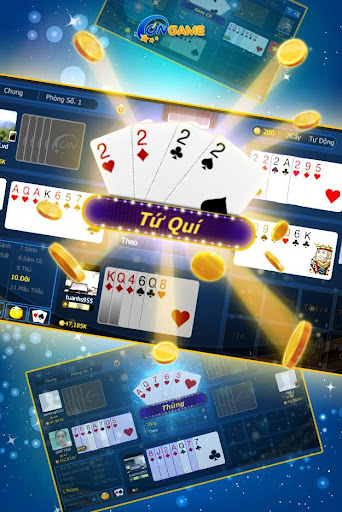 Ongame Su00e1m cu00f4 - Xu00ec tu1ed1 Poker 7 lu00e1 4.0.3.8 screenshots 3