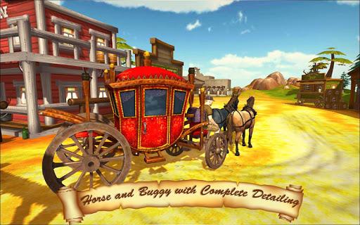 Horse Taxi City Transport: Horse Riding Games 1.2.1 screenshots 2