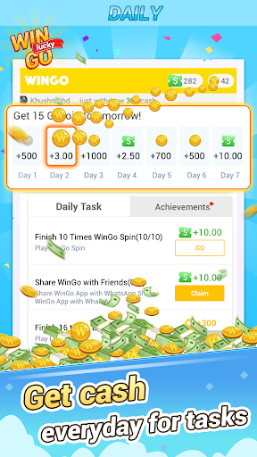 WinGo QUIZ - Win Everyday & Win Real Cash 1.0.3.2 Screenshots 3