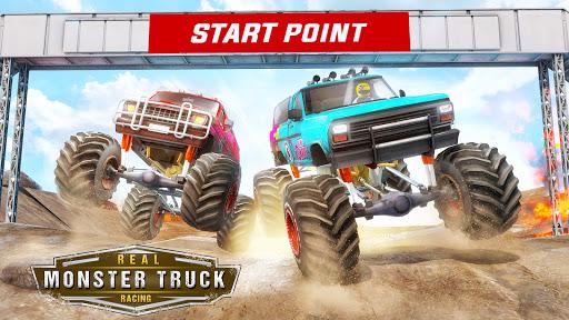 Monster Truck Car Racing Game apktram screenshots 8
