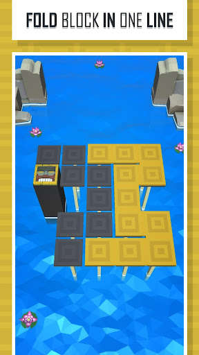 folding lines - puzzle game screenshot 1