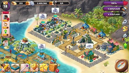 Fantasy Island Sim APK MOD HACK (Dinero Ilimitado) 1