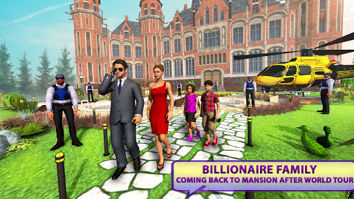 Billionaire Dad Luxury Life Virtual Family Games 1.1.5 screenshots 2