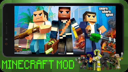 Craft Theft Auto for GTA Minecraft 2021 Apk Download 3