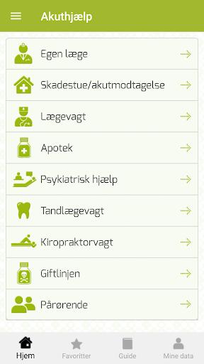 Akuthjælp 2.4.7 screenshots 1