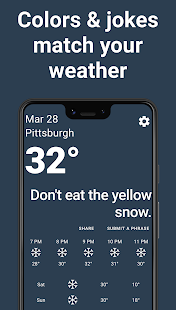 Funny Weather - Authentic, Offensive, Mean Weather