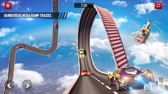 Mega Ramp Car Stunts Racing : Impossible Tracks 3D 10