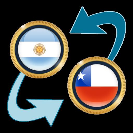 Argentine Peso x Chilean Peso Icon