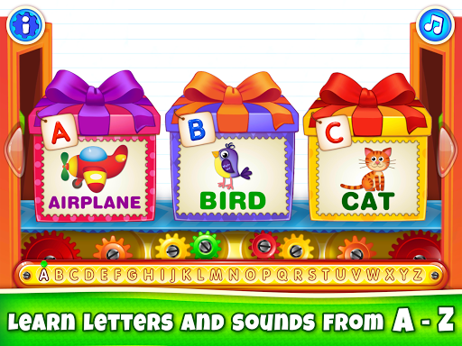 Baby ABC in box! Kids alphabet games for toddlers! 3.3.3.2 screenshots 15