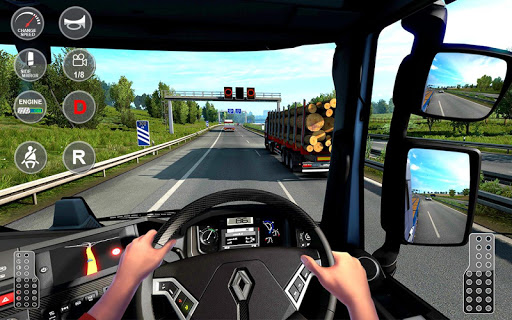 Euro Truck Transport Simulator 2: Cargo Truck Game android2mod screenshots 3