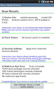 Secure Update Scanner 2