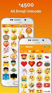 Big Emoji Mod Apk- large emoji for all chat messengers (Premium Feature Unlock) 7.0.0 1