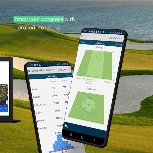 Golf GPS Rangefinder: Golf Pad android2mod screenshots 6