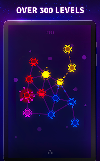 Splash Wars - glow space strategy game apkpoly screenshots 17