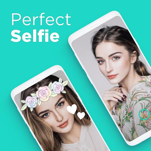 Candy Camera - selfie, beauty camera, photo editor 5.4.73-play screenshots 1