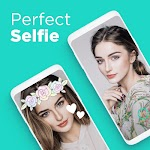 screenshot of Candy Camera - selfie, beauty camera, photo editor