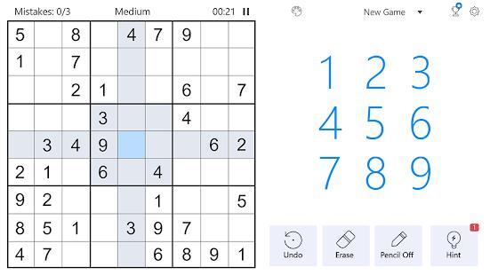Sudoku - Free Classic Sudoku Puzzles screenshots 6