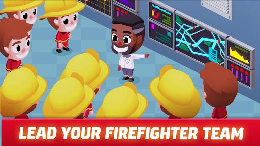Idle Firefighter Tycoon - Fire Emergency Manager apktram screenshots 11