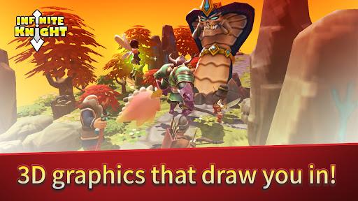 INFINITE KNIGHT : 3D IDLE RPG  screenshots 4