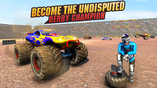 Real Monster Truck Demolition Derby Crash Stunts 3.0.8 screenshots 9