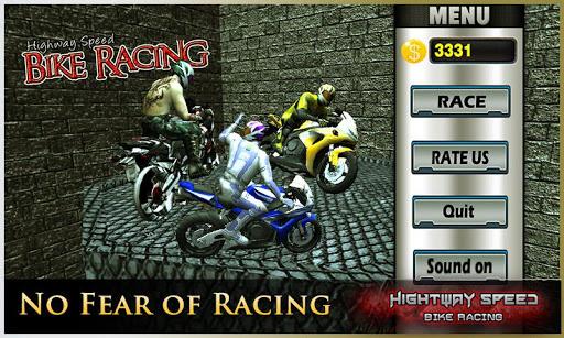 Highway Speed Motorbike Racer : Bike Racing Games  screenshots 9