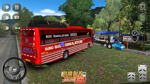 Euro Bus Simulator 2021 : Ultimate Bus Driving  screenshots 1