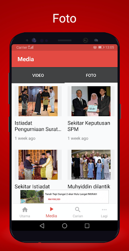 Berita Harian Mobile 2.8.3 screenshots 3