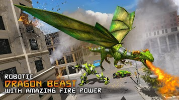 Deadly Flying Dragon Attack : Robot Games