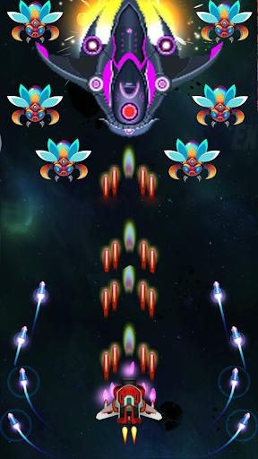 Galaxy Infinity: Alien Shooter APK MOD – Pièces de Monnaie Illimitées (Astuce) screenshots hack proof 2