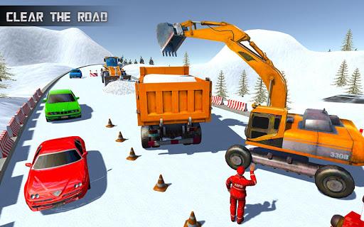 Real Heavy Snow Excavator Simulator 1.20 Screenshots 3