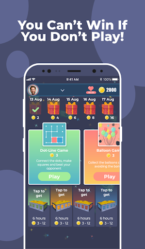 Play and Win! Play fun games and test your skills!  screenshots 1