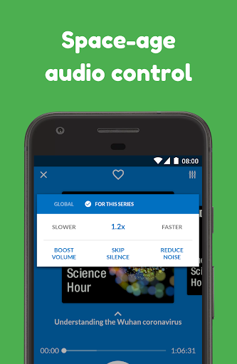 Podcast App: Free & Offline Podcasts by Player FM 4.13.0.60 Screenshots 6